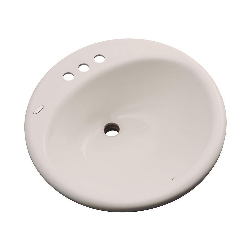 Thermocast Clarington Drop-In Bathroom Sink in Shell