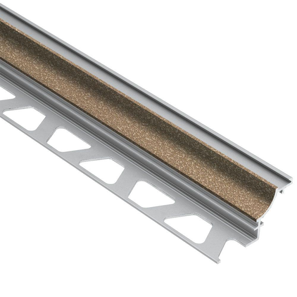 Dilex-AHK Beige Textured Color-Coated Aluminum 5/16 in. x 8 ft. 2-1/2