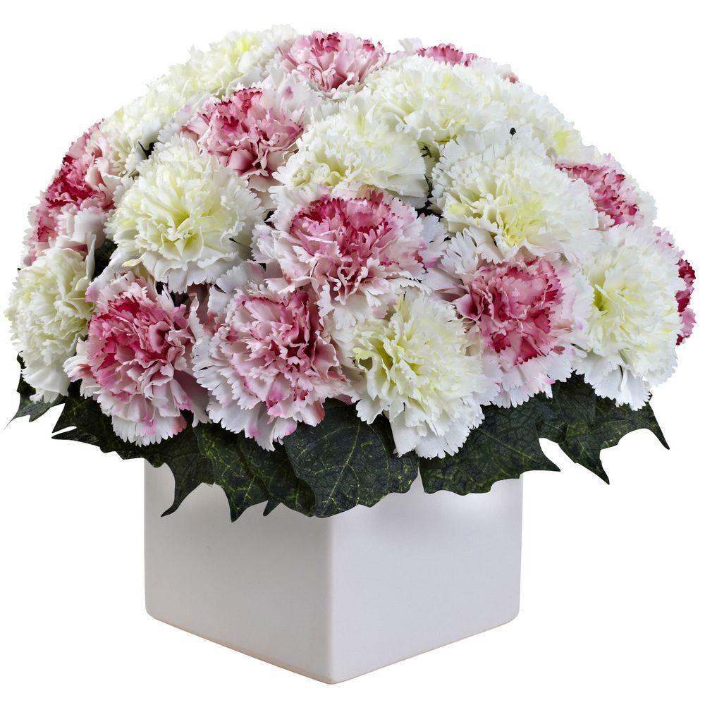 Carnation Arrangement with Vase