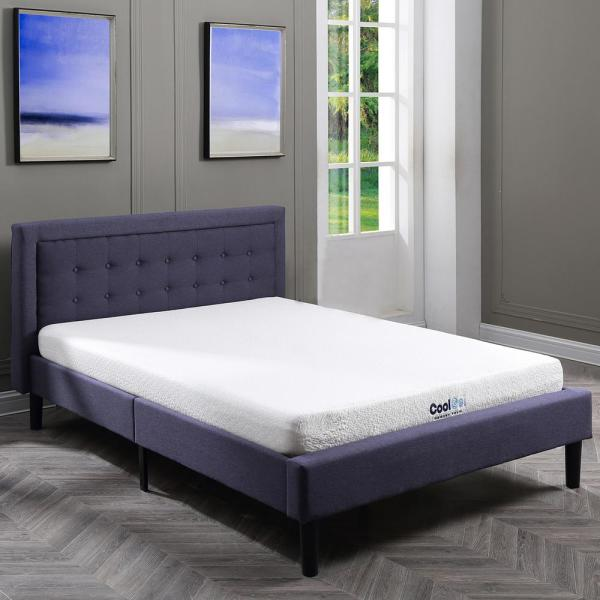 Cool Gel Cool Gel Twin XL-Size 6 in. Gel Memory Foam