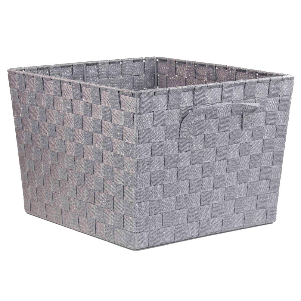 HOME Basics Decorative Storage Basket