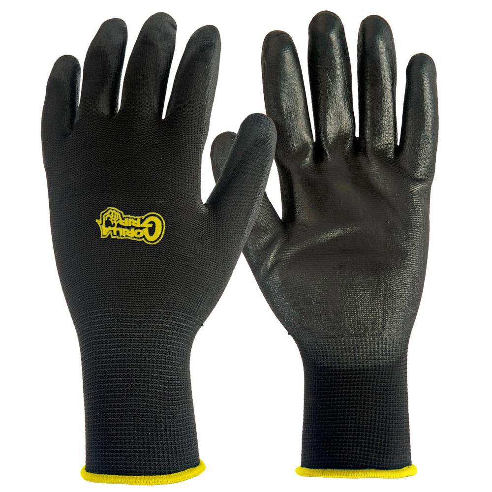 Grease Monkey Medium Gorilla Grip Gloves 50-Pair