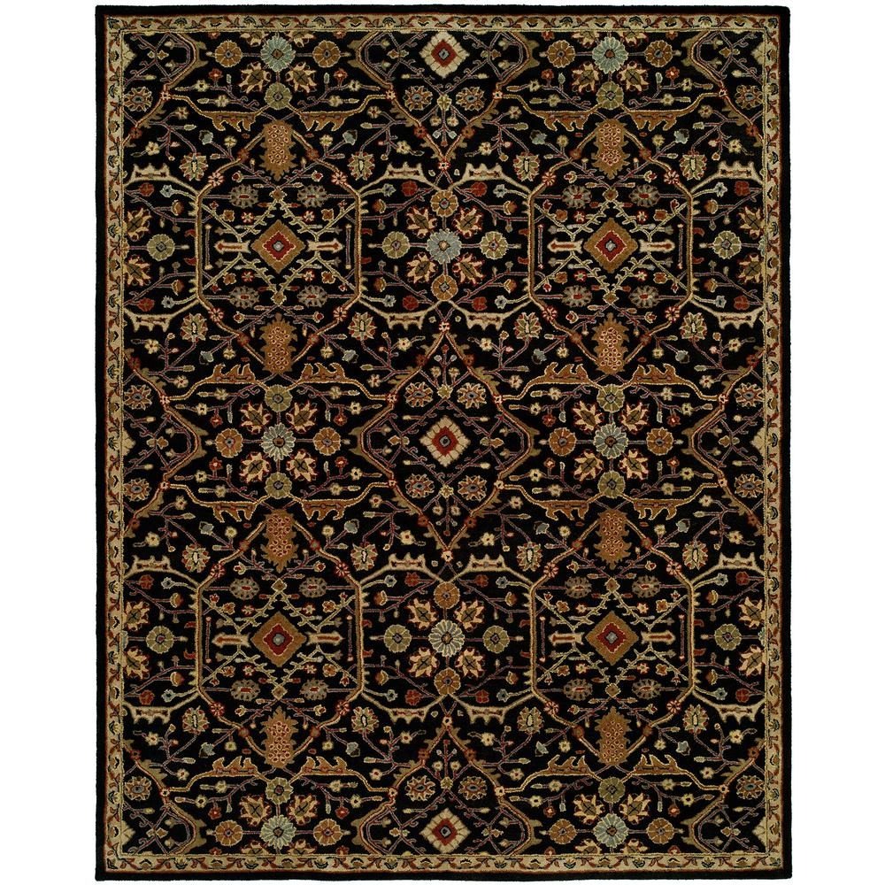 Empire Onyx 5 ft. x 8 ft. Area Rug