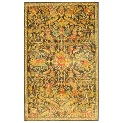 Elizabeth Multi 5 ft. x 8 ft. Abstract Area Rug