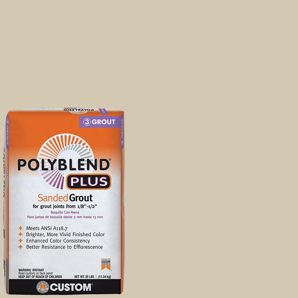 Polyblend Plus #382 Bone 25 lb. Sanded Grout