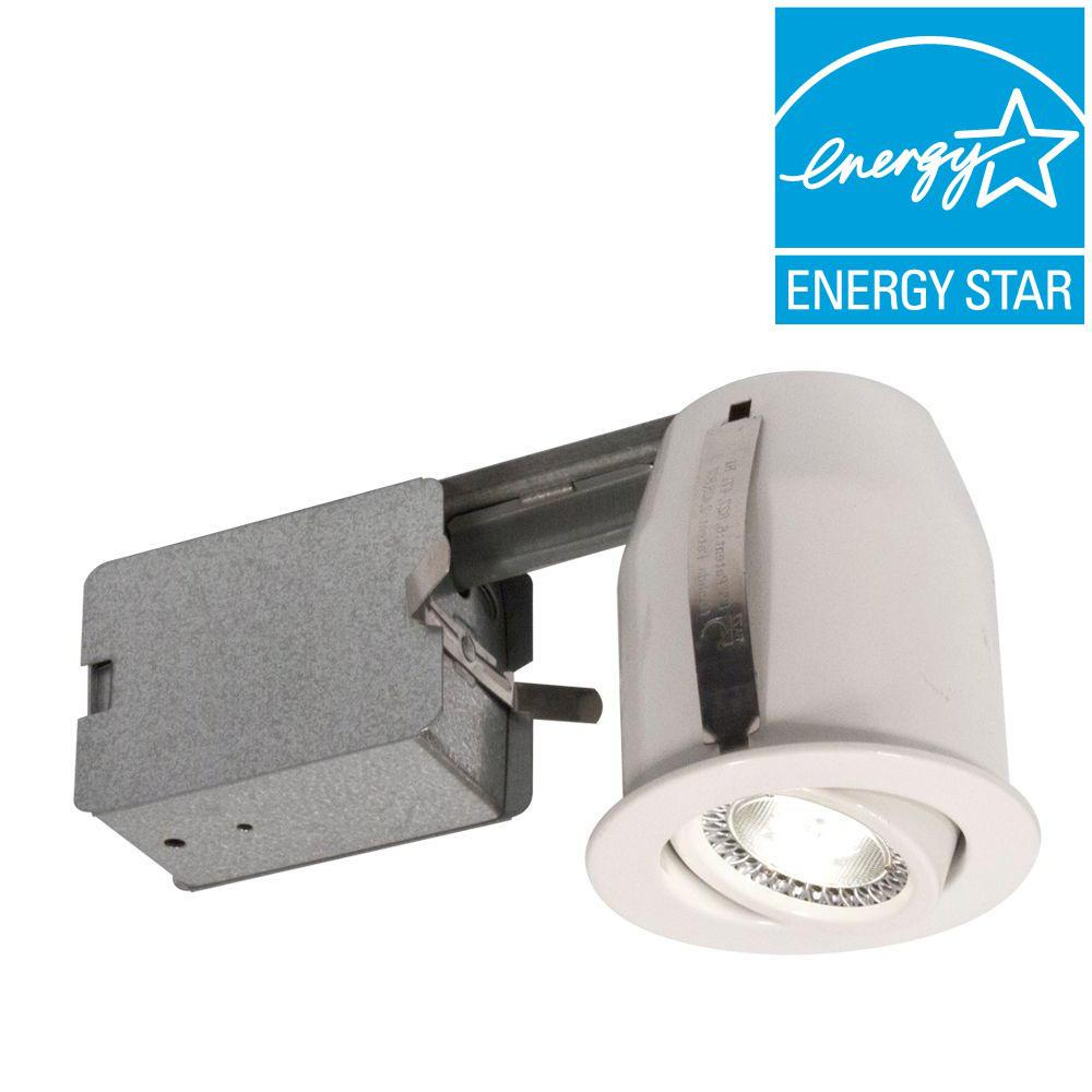 BAZZ 3 in. White LED Recessed Lighting Fixture