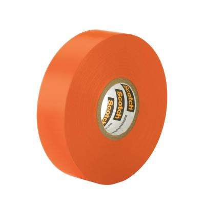 Scotch 3/4 in. x 66 ft. x 0.007 in. #35 Orange Electrical Tape (Case of 5)