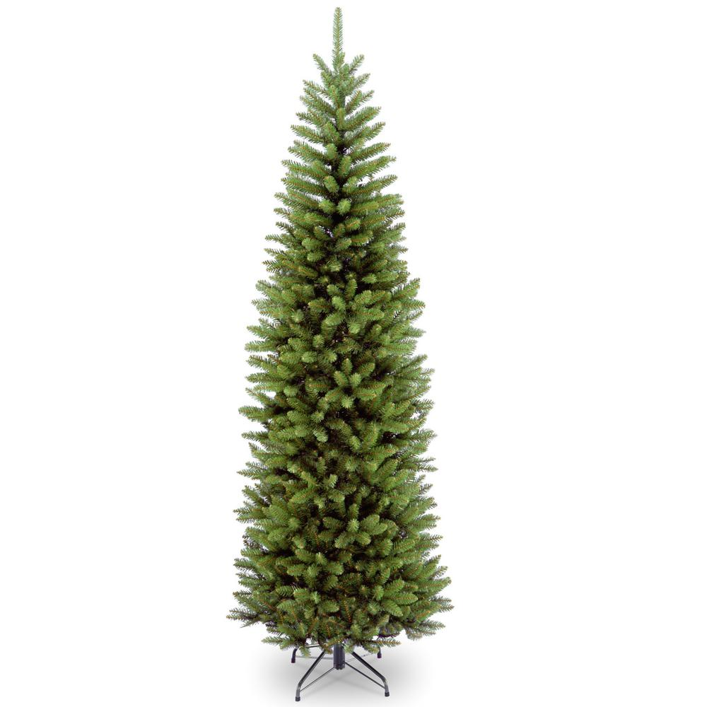 national tree company 10 ft kingswood fir pencil artificial christmas tree