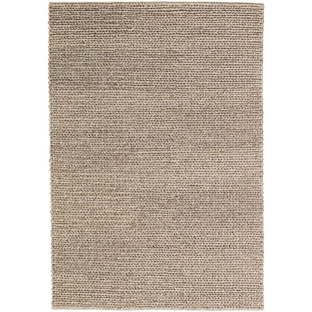 Chandra Stella Patterned Contemporary Wool Beige Aqua Area: Chandra Valencia Tan 9 Ft. X 13 Ft. Indoor Area Rug