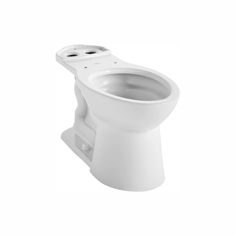 American Standard VorMax Elongated Toilet Bowl Only in White