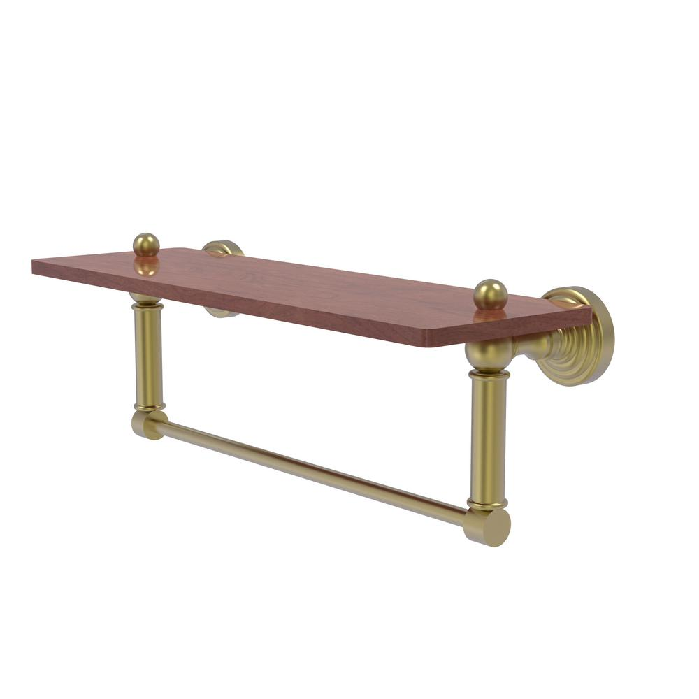 Allied Brass Waverly Place Collection 16 In Solid Ipe