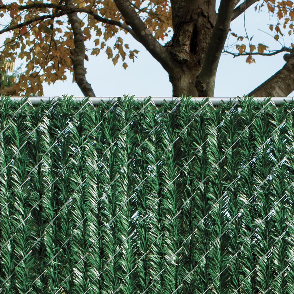 Yardgard 4 Ft H X 5 Ft W Green Privacy Hedge Slat Vinyl