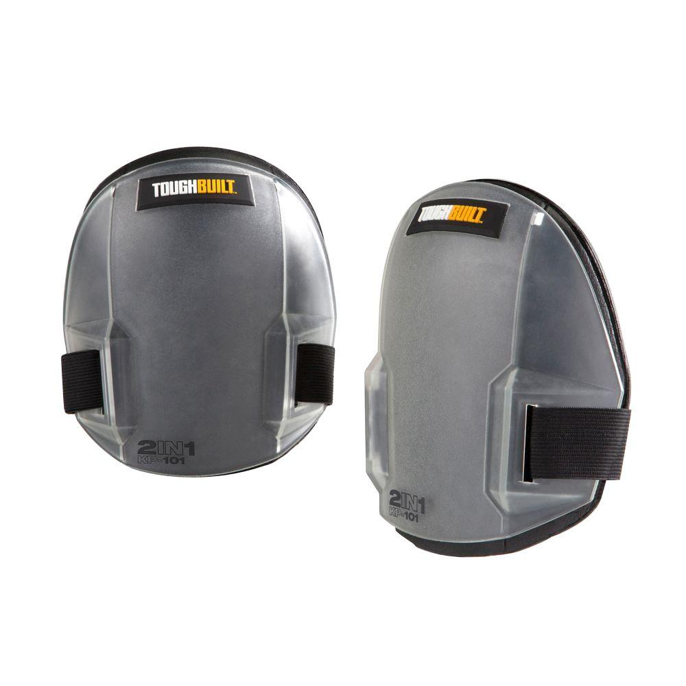 Black 2-in-1 Knee Pads