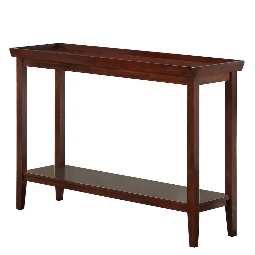 Ledgewood Espresso Console Table