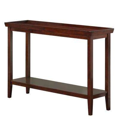 Ledgewood Espresso Console Table
