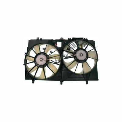 Radiator and Condenser Fan Assembly w//o Control Module For 2007-2009 Mazda CX7
