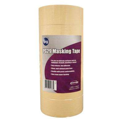 PG-29 2 in. x 60 yd. Premium Grade Low Tack Masking Tape (6-pack)