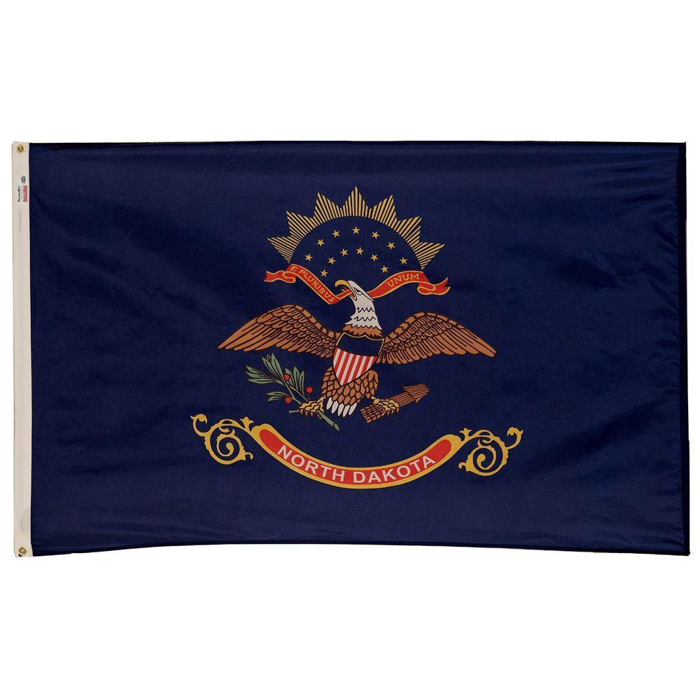 3 ft. x 5 ft. Nylon North Dakota State Flag