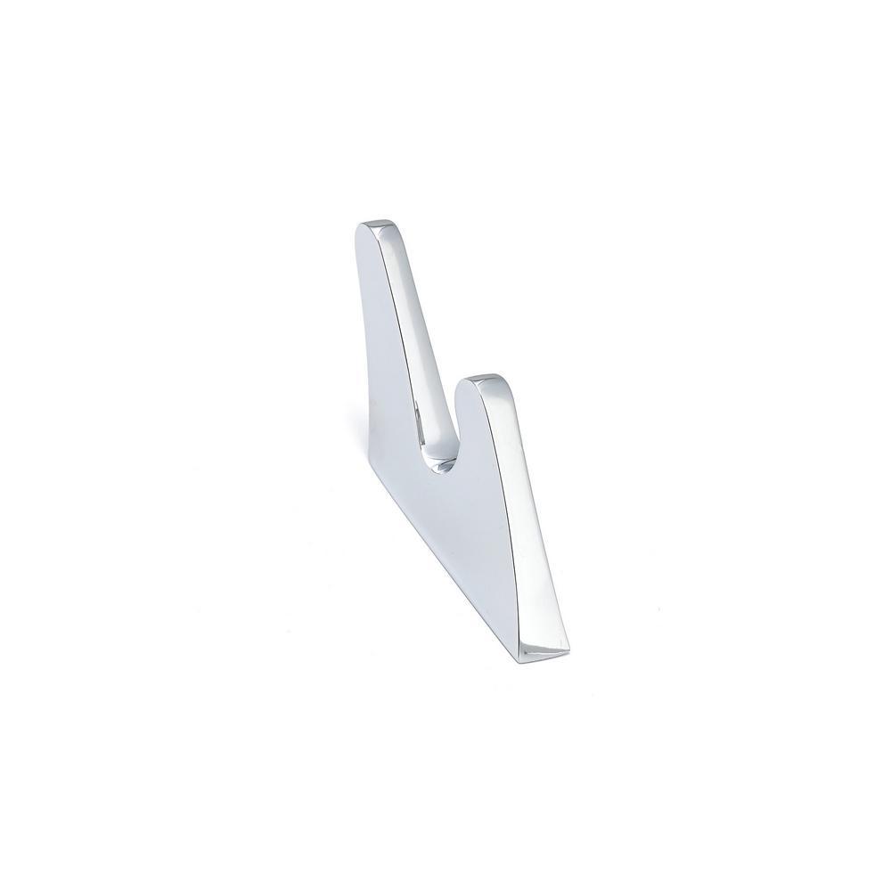 3-11/32 in. (84.8 mm) Chrome Decorative Hook