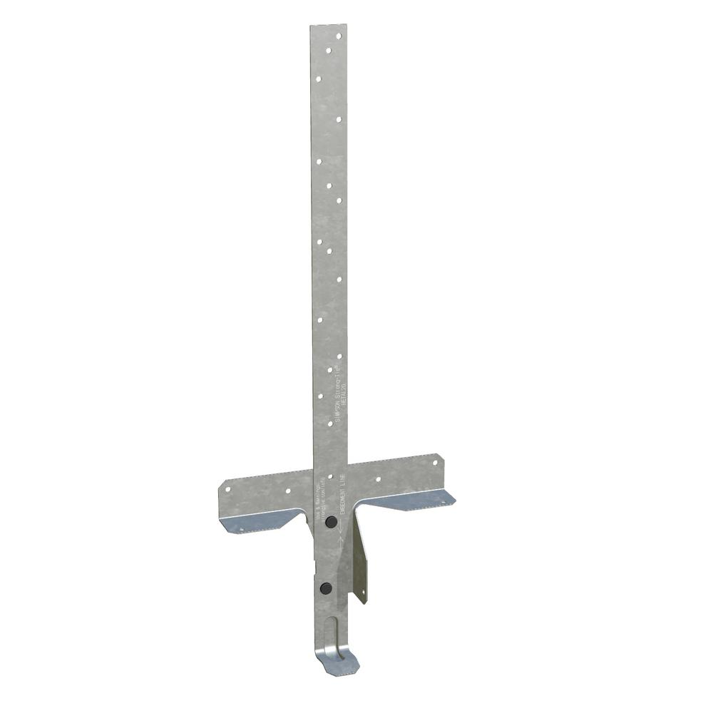 15 in. 16-Gauge Embedded Truss Anchor