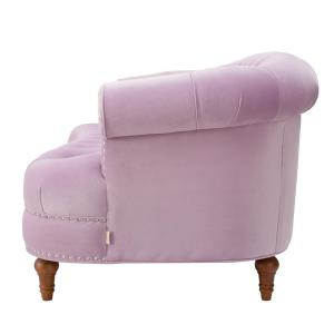 Astonishing Jennifer Taylor La Rosa Lavender Sofa 2525 3 952 The Home Theyellowbook Wood Chair Design Ideas Theyellowbookinfo