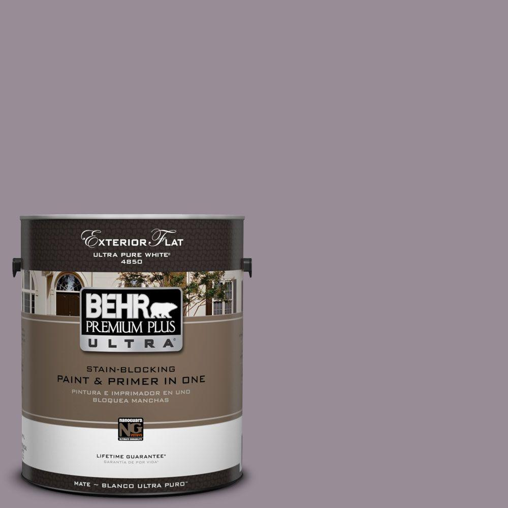 BEHR Premium Plus Ultra 1-Gal. #UL250-18 Victorian Flat Exterior Paint