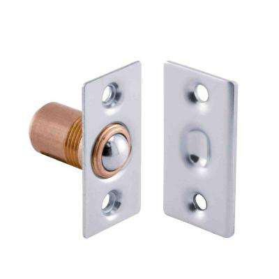 1/2 in. Satin Nickel Solid Brass Surface-Mount Ball Catch