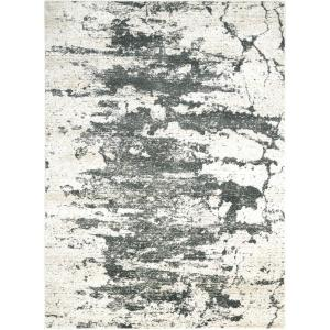 Nourison Maxell Ivory Grey 9 Ft X 13 Ft Area Rug 343505