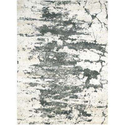 Maxell Ivory/Grey 9 ft. x 13 ft. Area Rug