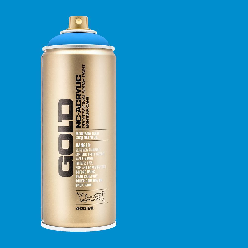 13 oz  GOLD Flame Blue Spray Paint