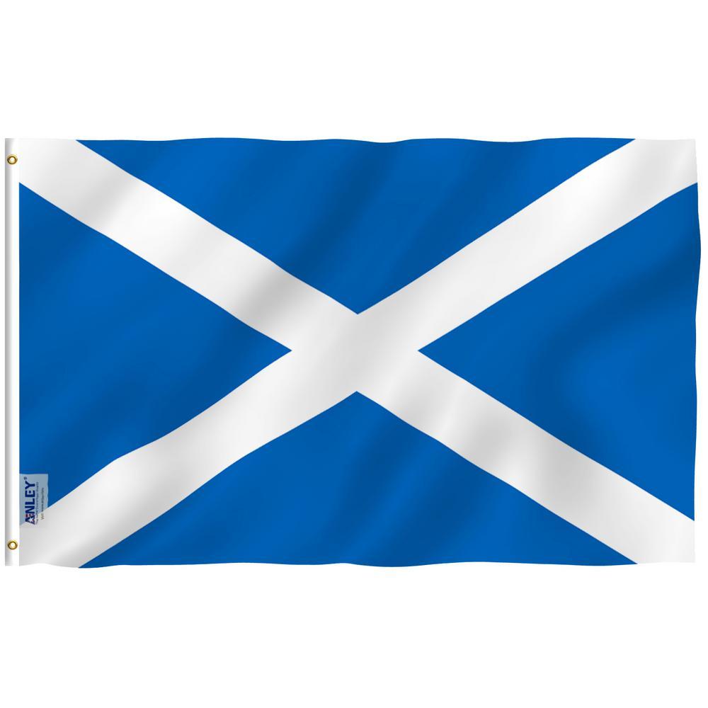Anley Fly Breeze 3 Ft X 5 Ft Polyester Scotland Flag 2