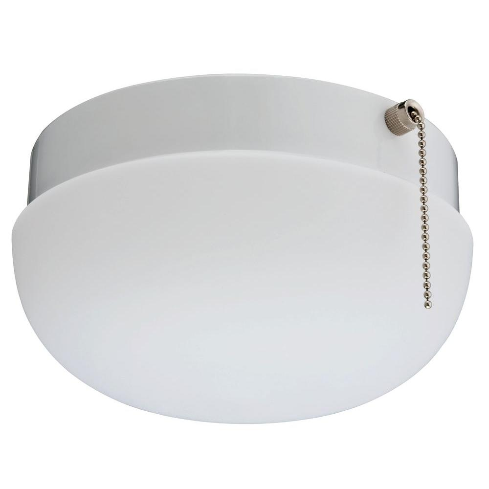 Design Closet Light lithonia lighting 1 light white round closet flushmount fmcl 13 acrd m6 the home depot