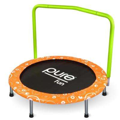 36 in. Foldable Kids Mini Trampoline