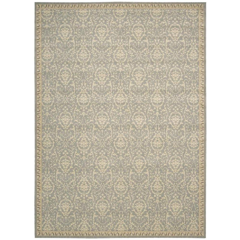 Riviera Blue 4 ft. x 6 ft. Area Rug