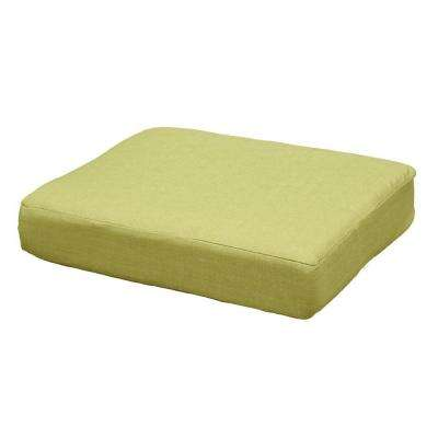 Charlottetown Green Bean Replacement Outdoor Ottoman Cushion