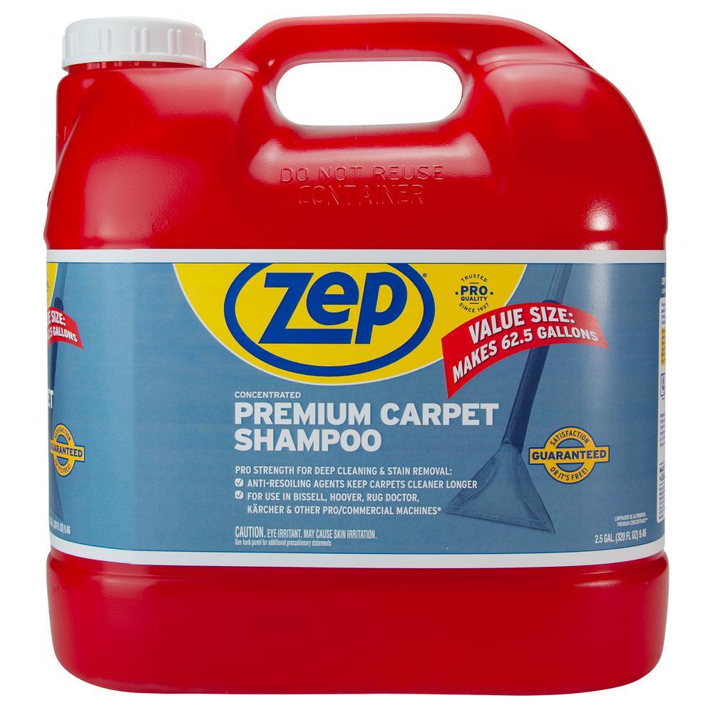 Zep 2 5 Gal Premium Carpet Shampoo Zupxc320 The Home Depot