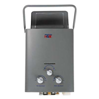 5 Liter 1.5 GPM Portable LP Gas Tankless Water Heater