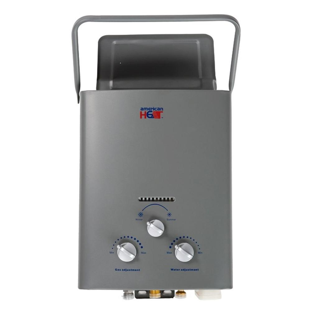 IHeat 5 Liter 1.5 GPM Portable LP Gas Tankless Water Heater