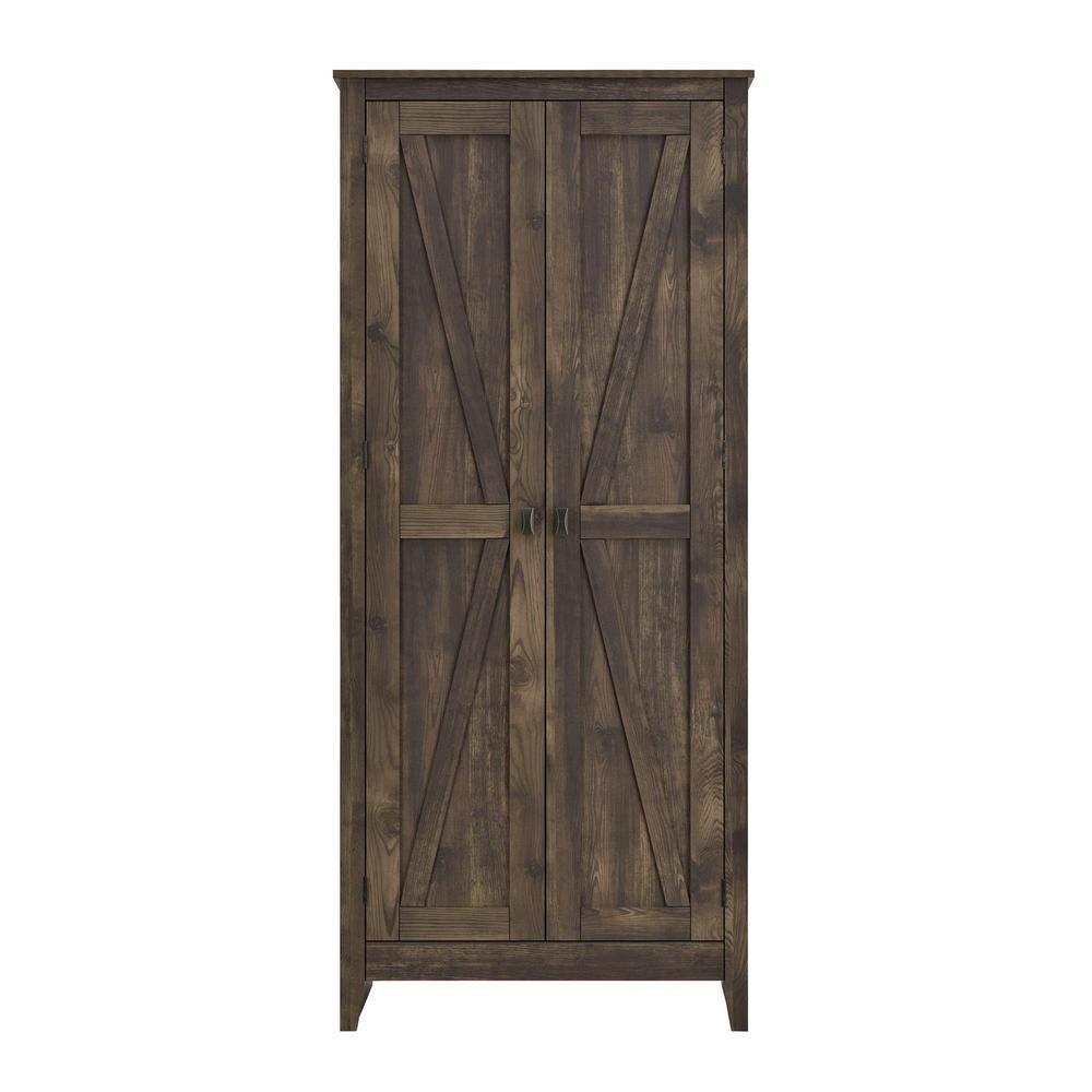 Brownwood 31.5 in. W Rustic Storage Cabinet