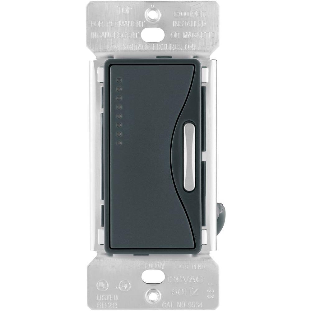 Aspire Smart Accessory Dimmer with Preset in Silver Granite