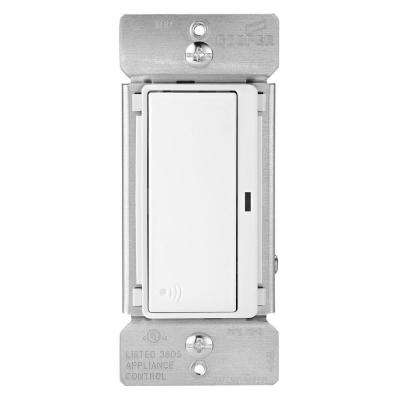 Aspire 15 Amp 120-Volt Single Pole RF Wireless Light Switch, White