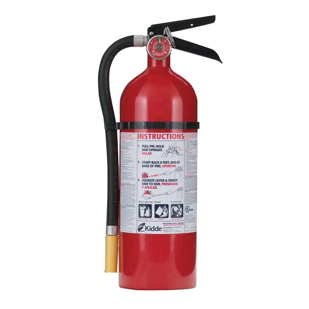 Kidde Pro 340 3 A 40 B C Fire Extinguisher 21026948 The