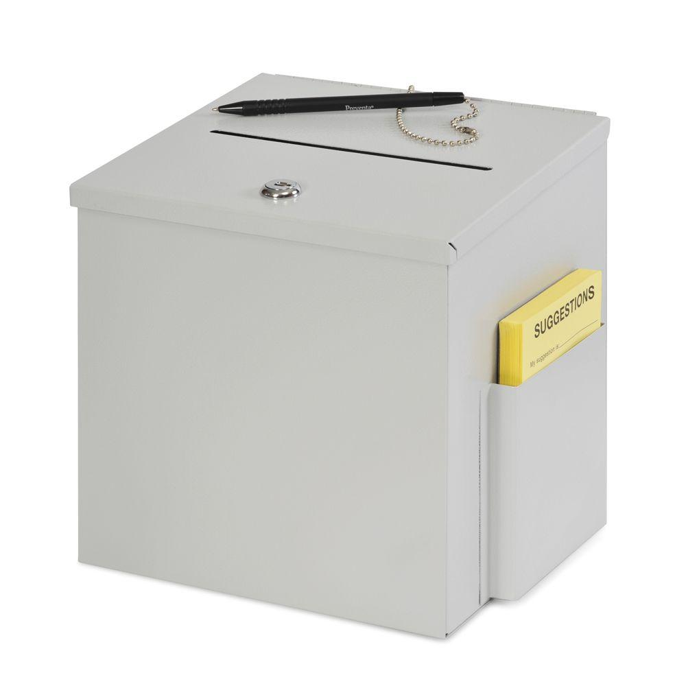 Buddy Products Steel Suggestion Box