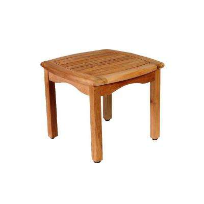 Ashford Teak Square Patio Side Table