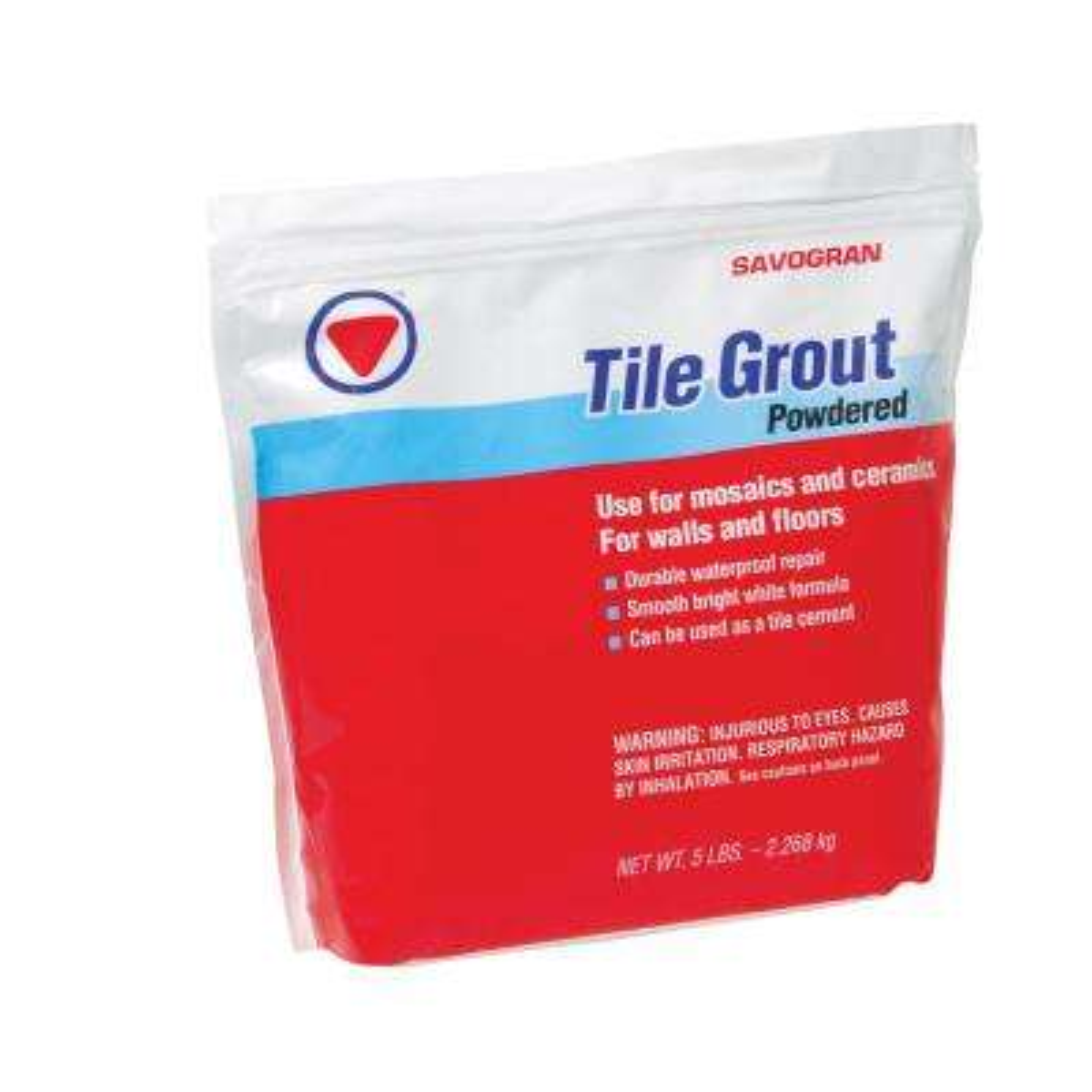 Waterproof floor tile grout