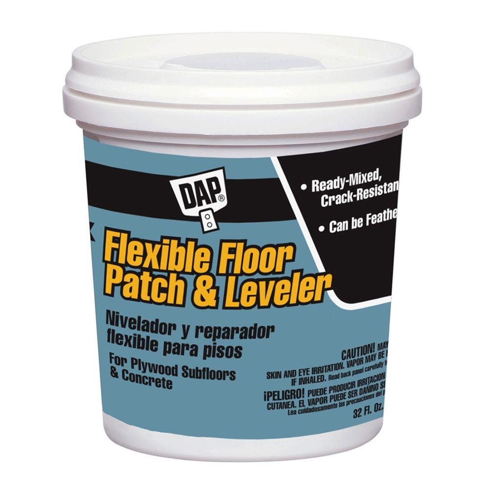 DAP 32 oz. Gray Flexible Floor Patch and Leveler-59184 - The Home ...