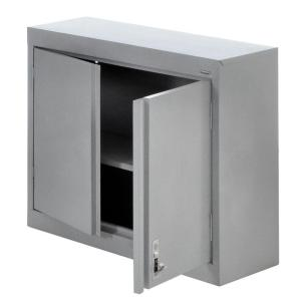 Sandusky 30 in. H x 30 in. W x 12 in. D Steel Wall Storage Cabinet ...