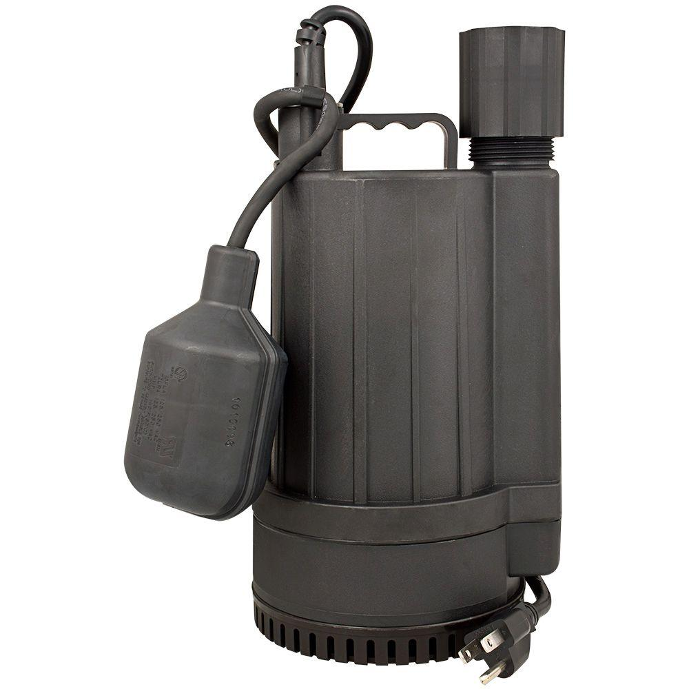 Star Water Systems 1/4 HP Plastic Sump Pump-2SPHAL