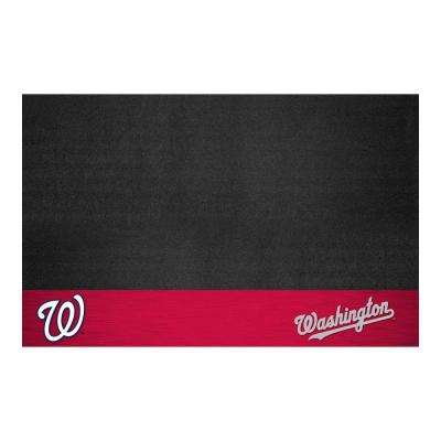 Washington Nationals 26 in. x 42 in. Grill Mat