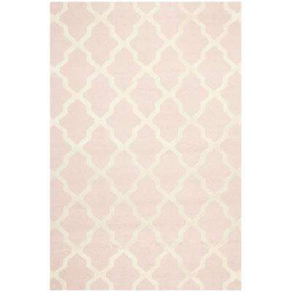 Cambridge Light Pink/Ivory 6 ft. x 9 ft. Area Rug